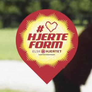 hjerteform
