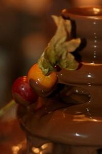 Chokoladefontaene